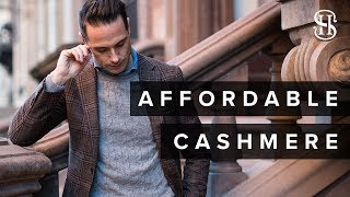 Luca Faloni Unboxing and Try-On | Affordable Cashmere