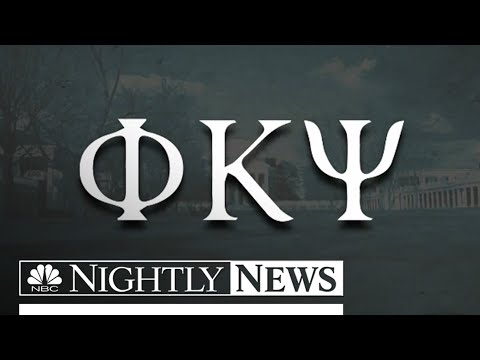 Rolling Stone Sued By Frat In Uva Rape Story | Nbc Nightly News video