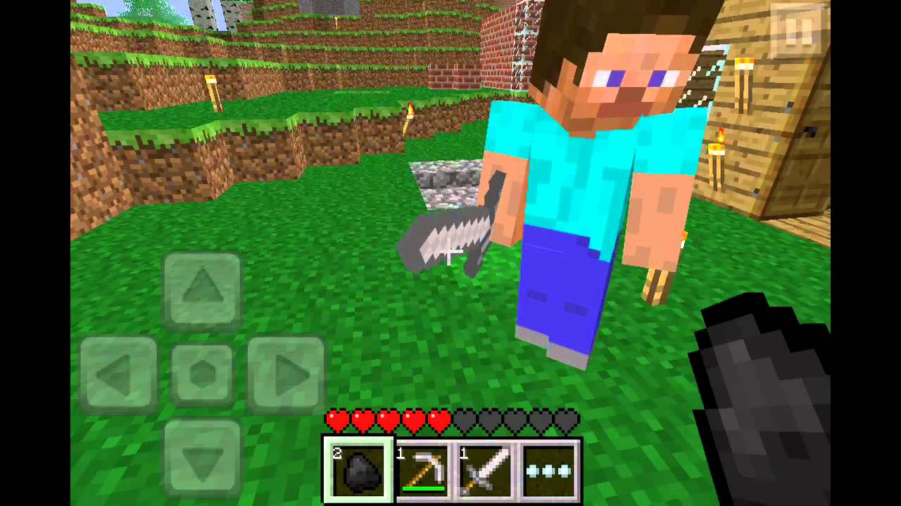 Minecraft Pocket Edition 0.3.0 Online Multiplayer - YouTube