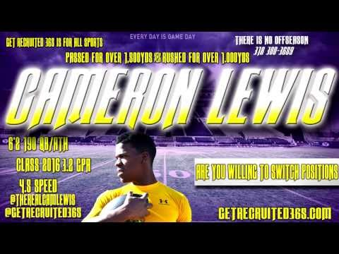 Cameron Lewis Wossman High School Get Recruited 365 Vlog