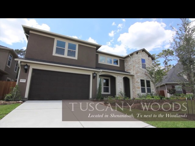 Drake Homes Inc - Tuscany Woods - Houston, Texas