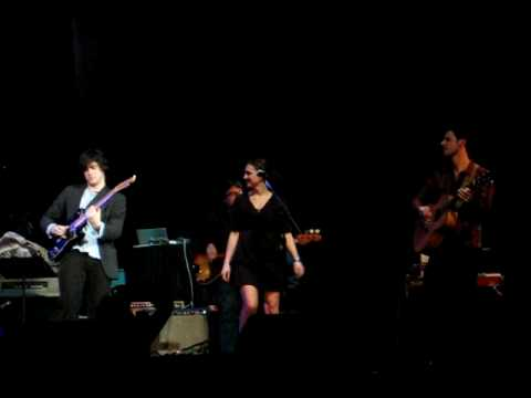 """The Nini & Ben Band playing their song """"Down to the Road"""" live at the Berklee Performance Center Feb 4, 2009 w/ Jake Cohen (drums), Derek McWilliams (Bass), Johnny Duke (Slide Guitar), & Tommy..."""