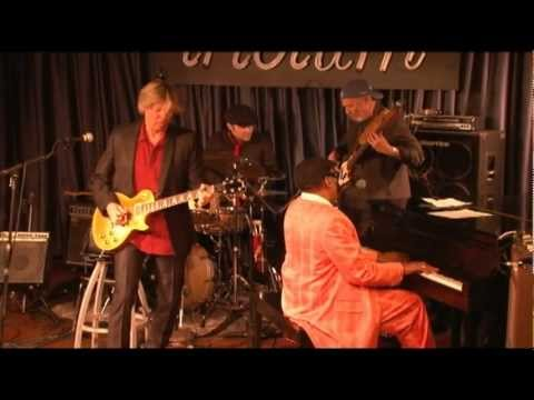 Jeff Golub with Henry Butler at the Iridium, NY. 2010 Part 1.