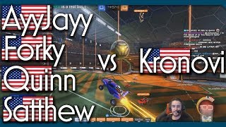 Kronovi vs AyyJayy vs Forky vs Satthew vs Quinn | 1v4 Showmatch