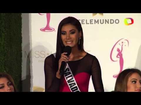 Miss Universo 2014: Miss El Salvador Patricia Murillo