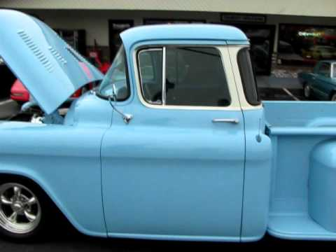 1957 CHEVROLET PICK-UP WITH 383 STROKER ,CLIPPED,MINI TUBBED.SUPER NICE Music Videos