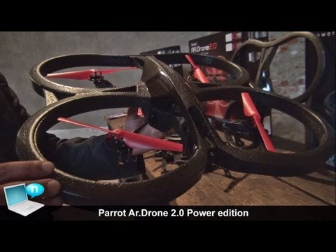 Parrot Ar.Drone 2.0 Power edition, Flight Recorder GPS, batterie ITA