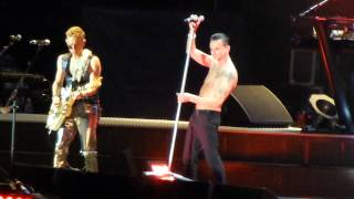 Depeche Mode - Never Let Me Down Again (Moscow 22.06.2013 - Lokomotiv Stadium)