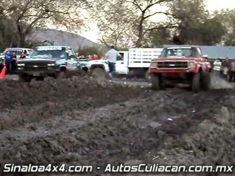 Arrancones 4x4 en lodo el 12 2da parte / autosculiacan.com /  sinaloa4x4.com  30 enero 2011