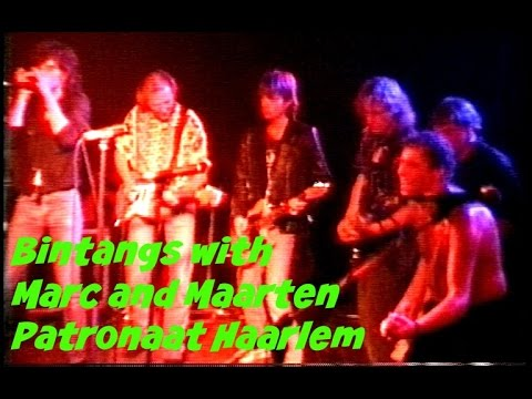 Bintangs full encores with guests Marc and Maarten Ibelings, Patronaat, Haarlem, 12-oct-1991