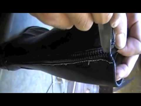Boot Stretching - Tight Calf - Boot Alterations - Riding Boots www.pickupmyrepair.co.uk