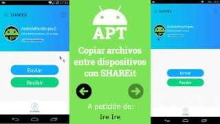 Copiar archivos entre dispositivos con SHAREit - [AndroidParaTorpes]