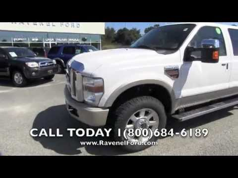 2010 FORD F-250 KING RANCH CREW 4X4 6.4L Diesel Review Car Videos * For Sale @ Ravenel Ford SC