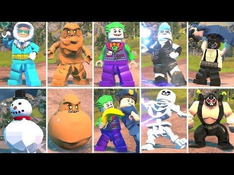 All Special Combat Moves in LEGO DC Super-Villains