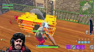 Dr Disrespect Plays Fortnite | Duo Win With Kraftyyz | Game 2 (2/23/18)