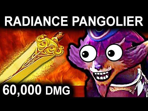 RADIANCE PANGOLIER - DOTA 2 PATCH 7.07 NEW META PRO GAMEPLAY