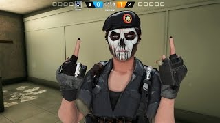 Rainbow Six Siege - Random Moments( Caveira OP!,Impossible Fails)