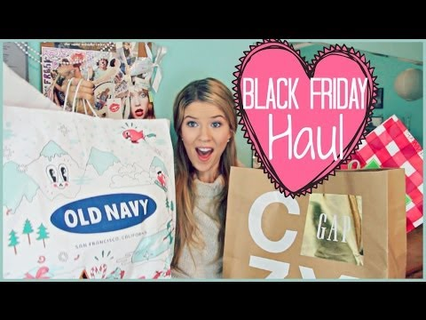 ♡ HUGE Black Friday Haul: TV's, Clothes, Candles & MORE!