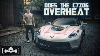 Does the 2019 Corvette C7 Z06 Still Overheat? | Track Review + Lap Time Record
