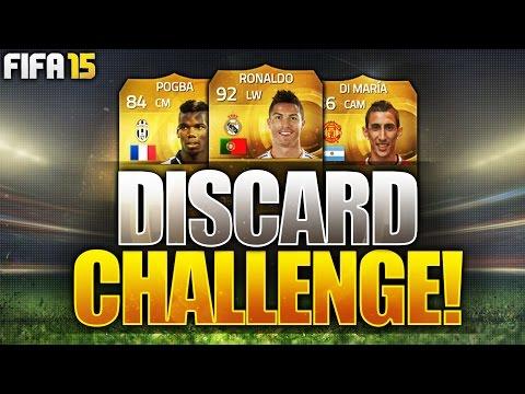 OMFG RONALDO!!!! FIFA 15 DISCARD PACK CHALLENGE!!! Insane Fifa 15 Discard Packs!
