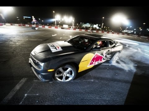 Drifting in Abu Dhabi - Red Bull Car Park Drift 2012