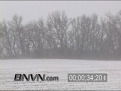  11/15/2005 Snow and blowing snow video