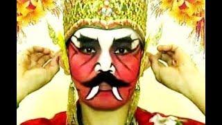 [Tutorial] RAKSASA / DEMON - Tata Rias Wajah Tari Jawa - Javanese Dance MAKE UP [HD]