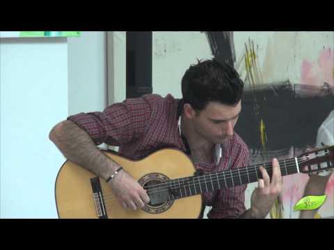 Carlos Piñana, Gitar-virtuos på Fundacion FRAX en Albir, Spania