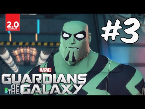 Guardians of the Galaxy - Part 3 (Time For Paws) Disney Infinity 2.0 Marvel Super Heroes