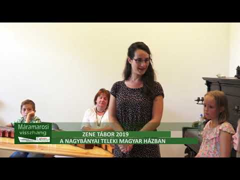 Zene tábor 2019 a Nagybányai Teleki Magyar Házban