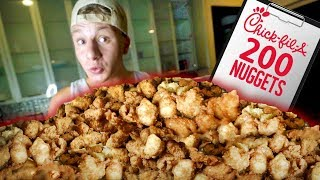 Attempting To Eat 200 Chick-Fil-A Nuggets...