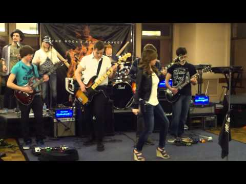 Rock N Roll Band (3rd Degree Burns Fundraiser 2014)