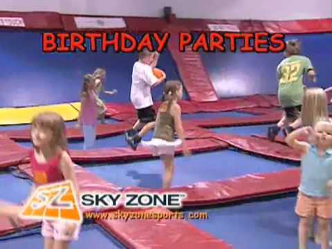 Birthday Parties at Sky Zone