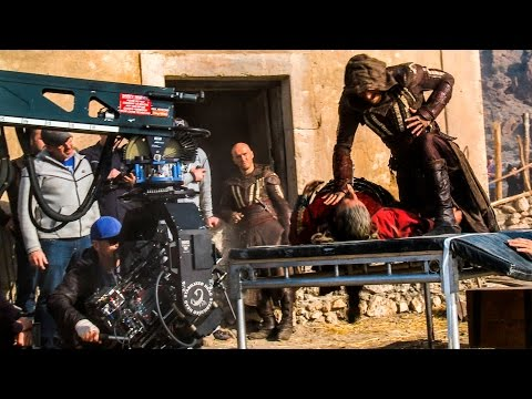 Assassin's Creed Hollywood Movie Behind The Scenes! With Damien Walters And Michael Fassbender