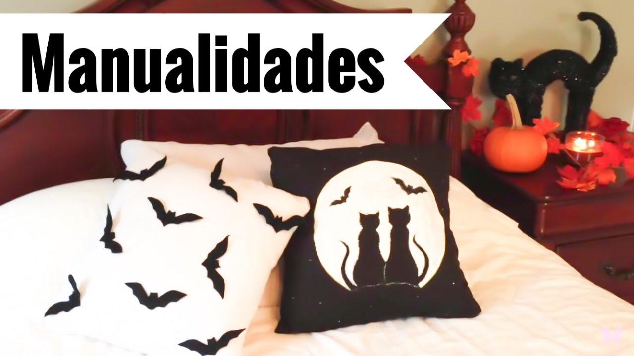 Como decorar el cuarto habitaci n con almohadas o cojines - Decoracion halloween para casa ...