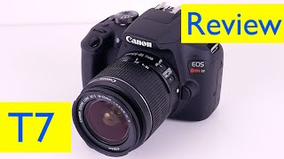 Canon Rebel T7 Review and Photo Test + HD Video test