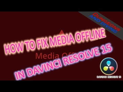 🎬 How to fix DaVinci Resolve Media Offline with GoPro Hero7 Black Video!!!