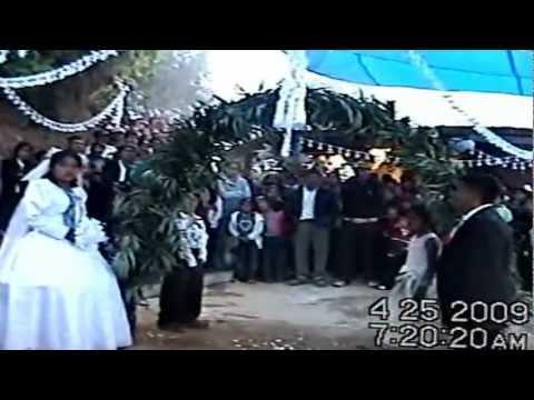 Parabien de los Novios en San Marcial Ozolotepec, Miahuatlan, Oaxaca