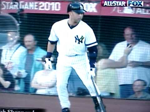 Bob Sheppard announces Derek Jeter at the 2010 MLB Baseball All Star Game Video