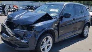 BMW X3 car  Body repair