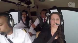 Shocking video of a bride killed just before marriage in an air crash