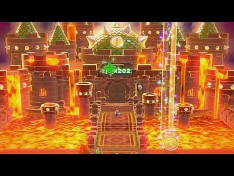 Super Mario 3D World - World Castle (100% Green Stars and Stamps)