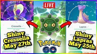 Shiny Hunting Bronsor!!! And New Shiny Legendary Pokemon Coming To Pokemon Go SHINY BUNEARY CAUGHT!!