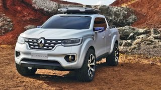 2017 Renault ALASKAN Pickup Truck Revealed