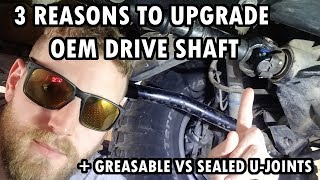 Lifted Jeeps NEED upgraded drive shafts | Jeep JKU Mods