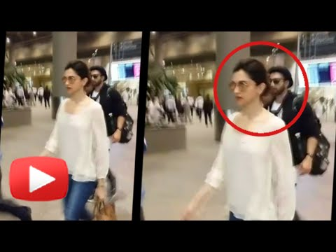 SPOTTED!! Deepika Padukone - Ranveer Singh Return From IIFA 2015 Together