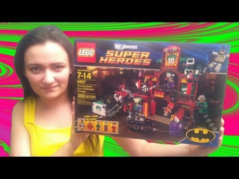 LEGO 6857 The Dynamic Duo Funhouse Escape LEGO Batman DC Super Heroes Review