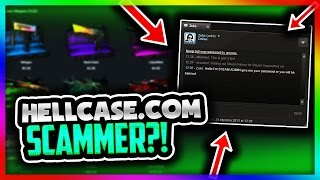 I ALMOST GOT SCAMMED!?!? (Hellcase Steam Account Scam!) AVOID THIS LATEST CSGO SCAM!!