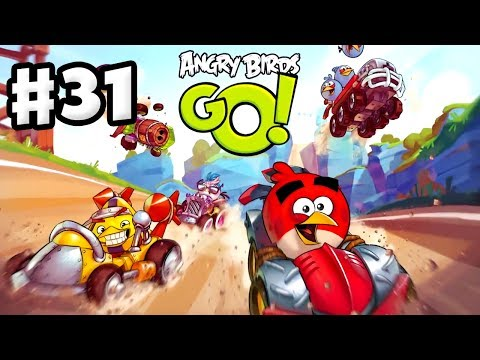 Angry Birds Go! Gameplay Walkthrough Part 31 - Track 3! Stunt (iOS, Android)