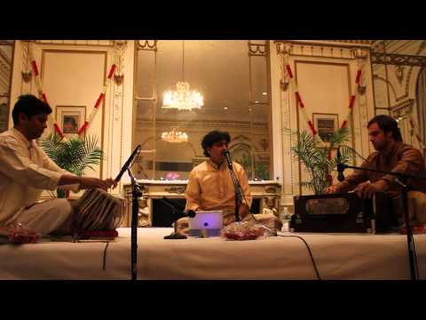 Rajesh Paranjape - Raag Nand At The Indian Consulate Nyc video
